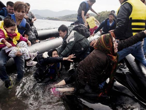 Número de chegadas à Grécia ultrapassou o meio milhão