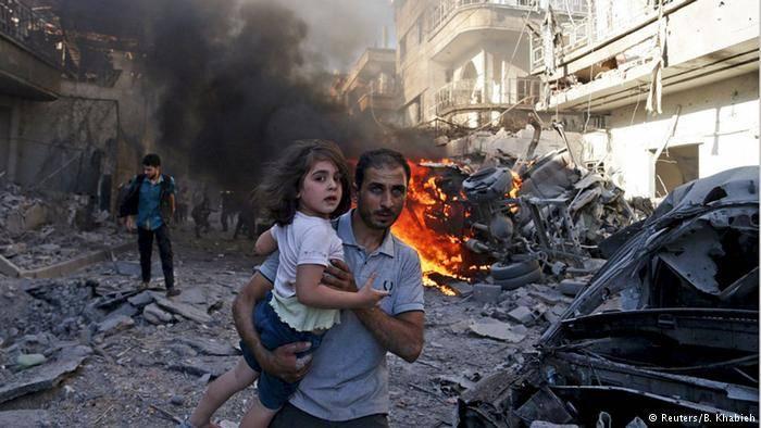 Apelo urgente para o fim do sofrimento sírio
