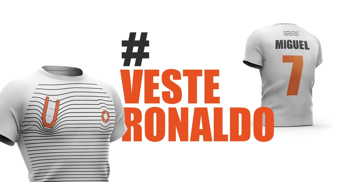 Conselho Português para os Refugiados lança apelo a Cristiano Ronaldo