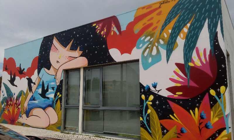 """Novo Mural do Espaço """"A Criança"""""""