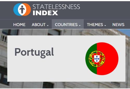 Nova atualização do Statelessness Index 2021 referente a Portugal disponível para consulta