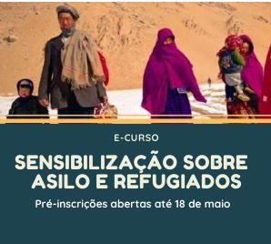 """CPR abre pré-inscrições para o curso """"Sensibilização sobre Asilo e Refugiados"""""""