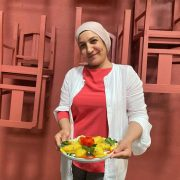 S., from Iraq, cooked Iraqi Kubba as part of the Workshop on Sustainable Cooking, which took place on the 15, 16 and 18th of June 2021 in Lisbon, Portugal.