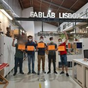 Trainees with the Certificates at the end of the Workshop on Repair, which took place on the 5, 7 and 9th of July 2021 in Lisbon, Portugal.